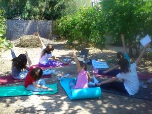 Yoga al aire libre Entre Naranjos Huertos del Túria