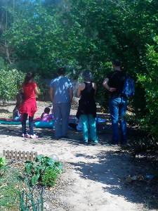 Yoga en Familia al aire libre Entre Naranjos Huertos del Túria